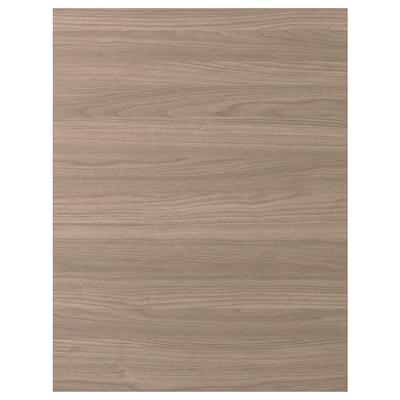 BROKHULT Panneau latéral de finition, motif noyer gris clair, 62x80 cm