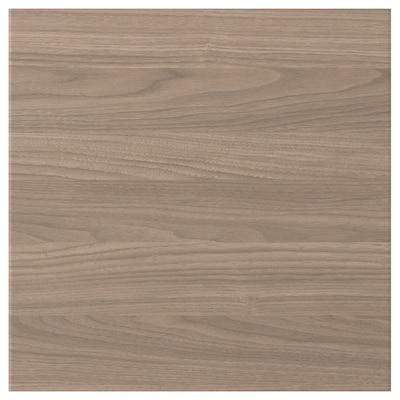 BROKHULT Porte, motif noyer gris clair, 40x40 cm
