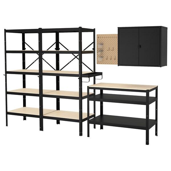 Bror Rangement Av Etag Armoire Etabli Ikea