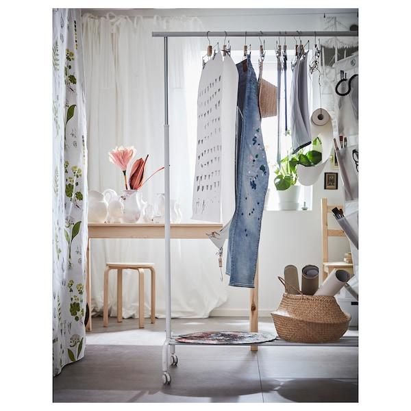 BUMERANG porte pantalons/jupes chromé 35 cm