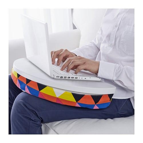 Connu BYLLAN Support ordinateur portable - Vissle gris/noir - IKEA PK49