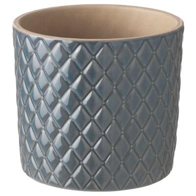 CHIAFRÖN Cache-pot, gris, 9 cm