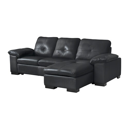 Dagstorp canap 2 places m ridienne mjuk anthracite ikea for Entretenir un canape en cuir