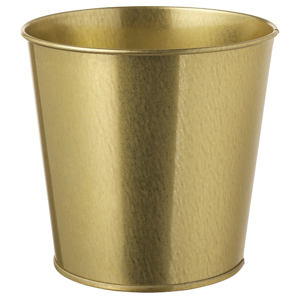 DAIDAI Cache-pot, couleur laiton, 12 cm