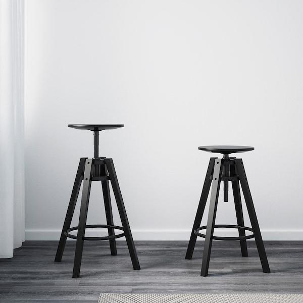 Dalfred Tabouret De Bar Noir Ikea