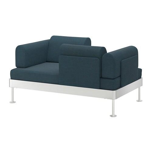 Delaktig Canape 2 Places Hillared Bleu Fonce Ikea