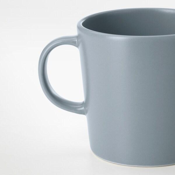 DINERA Mug, bleu gris, 30 cl