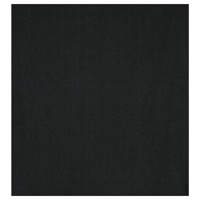 DITTE Tissu au mètre, noir, 140 cm
