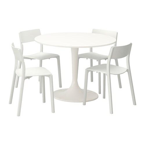docksta / janinge table et 4 chaises - ikea