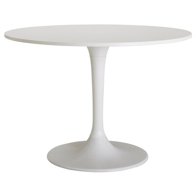 DOCKSTA table blanc/blanc 75 cm 103 cm