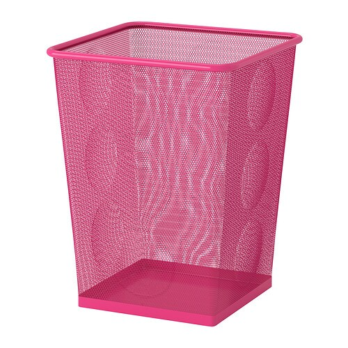 dokument corbeille papier rose ikea. Black Bedroom Furniture Sets. Home Design Ideas