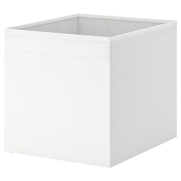 Drona Rangement Tissu Blanc 33x38x33 Cm Ikea