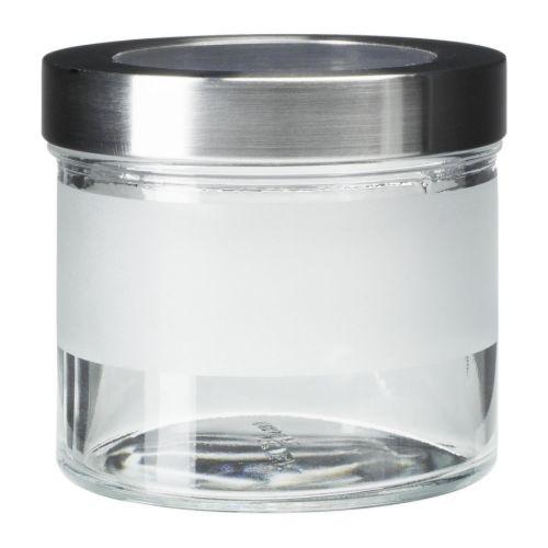 Droppar bocal avec couvercle ikea - Bocal verre ikea ...