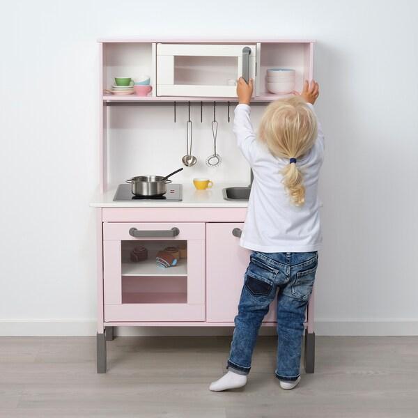 DUKTIG Mini cuisine, rose clair, 72x40x109 cm