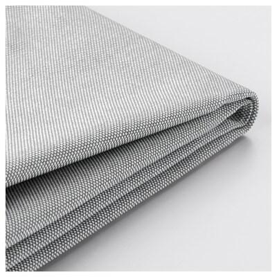 DUNVIK Housse lit/sommier, Orrsta gris clair, 160x200 cm