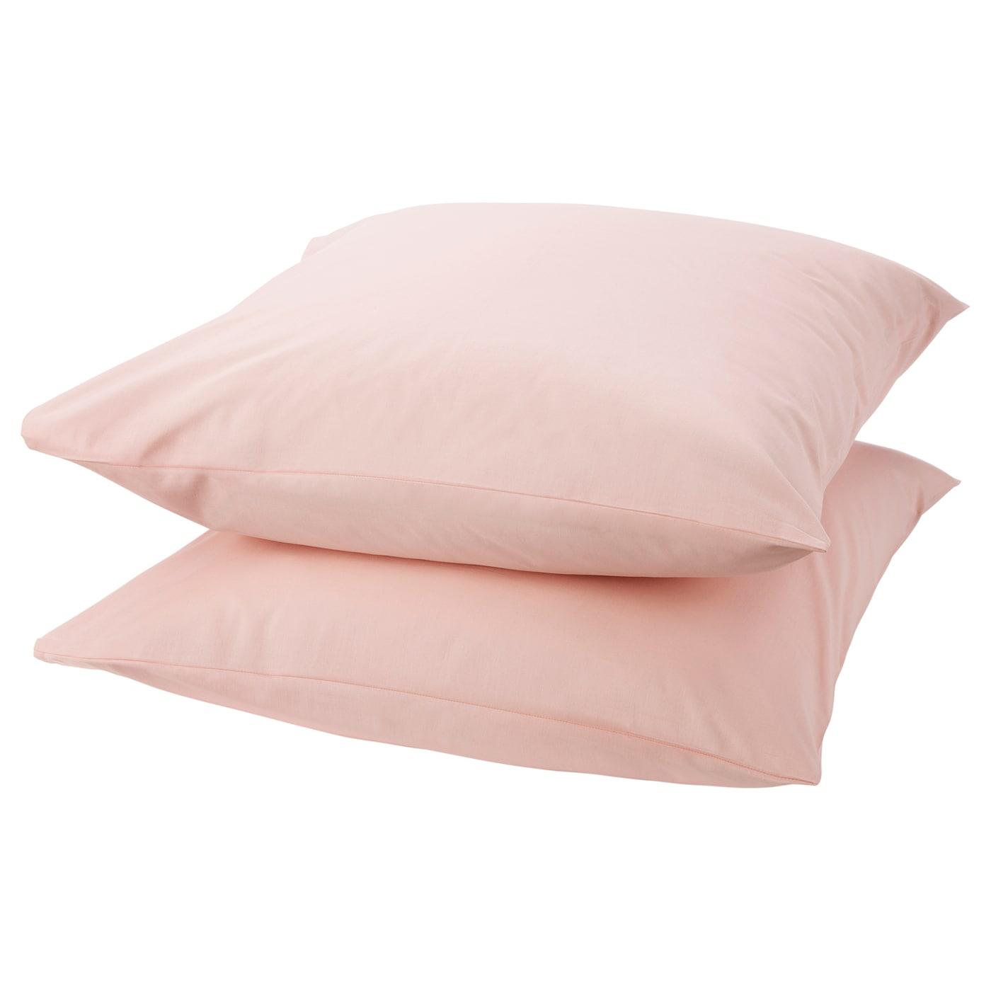 DVALA Taie d'oreiller - rose clair - IKEA