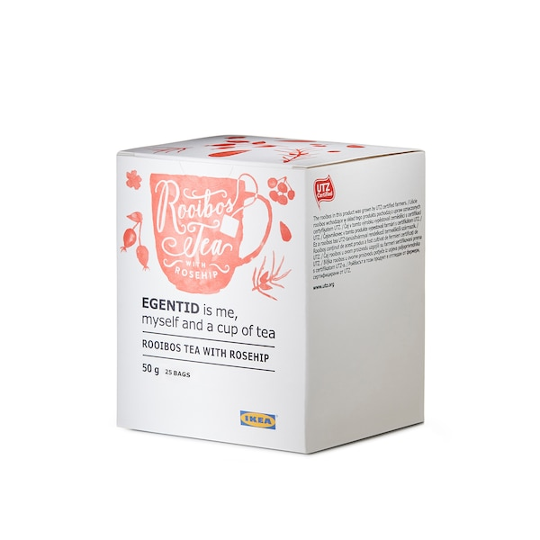 EGENTID Thé rooibos, églantier/certifié UTZ, 50 g