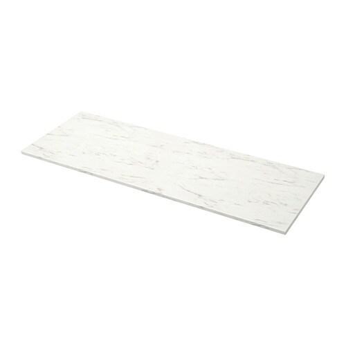 Ekbacken plan de travail blanc marbr 246x2 8 cm ikea for Ikea planner fr