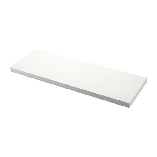 Ekbacken plan de travail sur mesure 63 6 125x2 8 cm ikea - Plan de travail salle de bain ikea ...