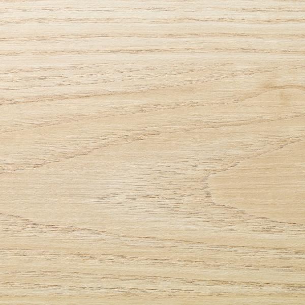 EKBACKEN Plan de travail sur mesure, décor frêne/stratifié, 45.1-63.5x2.8 cm