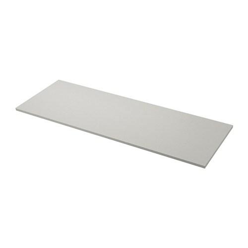 Ekbacken plan de travail sur mesure gris clair motif - Ikea plan cuisine sur mesure ...