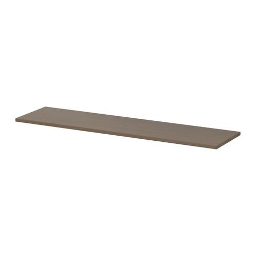 ekby hemnes tablette gris brun ikea. Black Bedroom Furniture Sets. Home Design Ideas