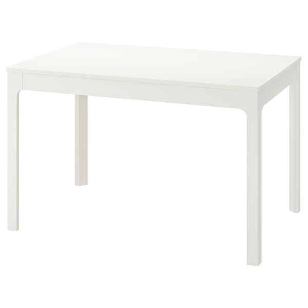Ekedalen Table Extensible Blanc 120 180x80 Cm Ikea