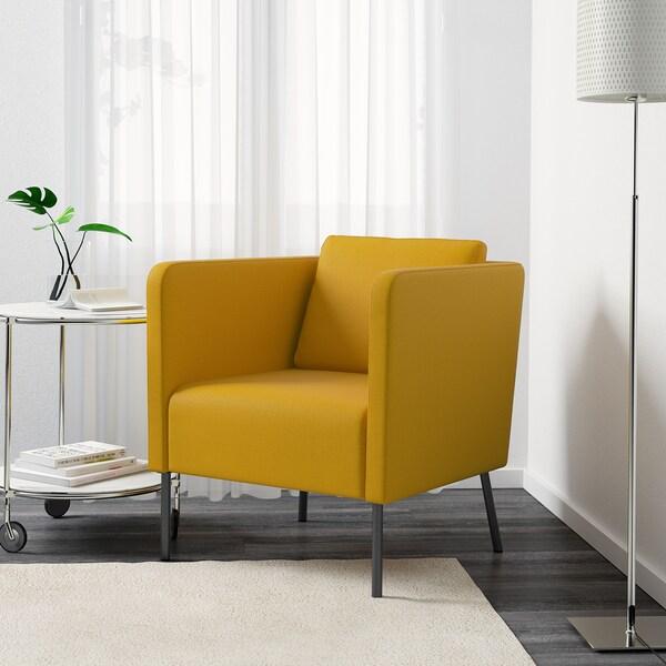EKERÖ Fauteuil, Skiftebo jaune