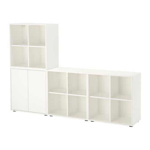 Eket Combinaison Rangement Avec Pieds Blanc Ikea