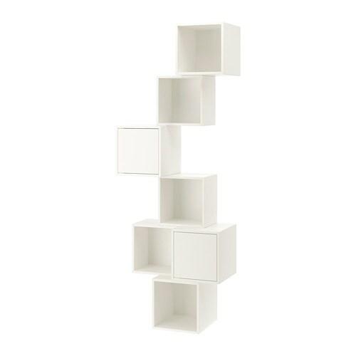Eket Combinaison Rangement Murale Blanc
