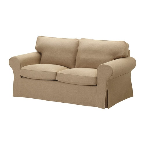 Ektorp canap 2 places edsken beige ikea for Canape deux places convertibles