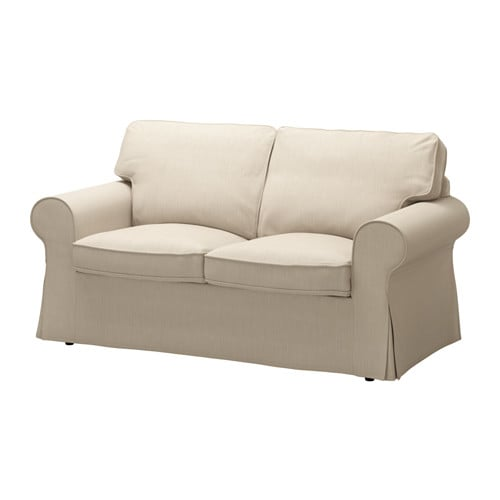 Ektorp canap 2 places nordvalla beige fonc ikea for Canape 2 places ikea