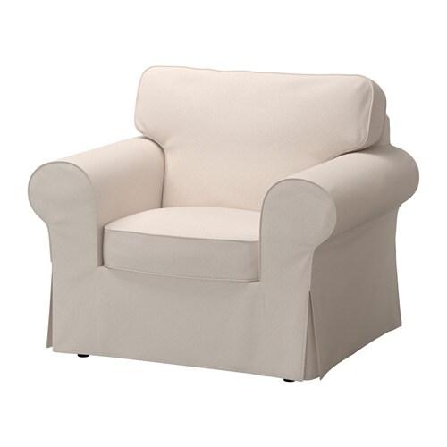 Ektorp housse de fauteuil lofallet beige ikea for Housse fauteuil electrique