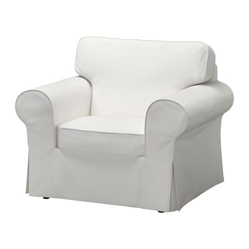 ektorp housse de fauteuil vittaryd blanc ikea. Black Bedroom Furniture Sets. Home Design Ideas