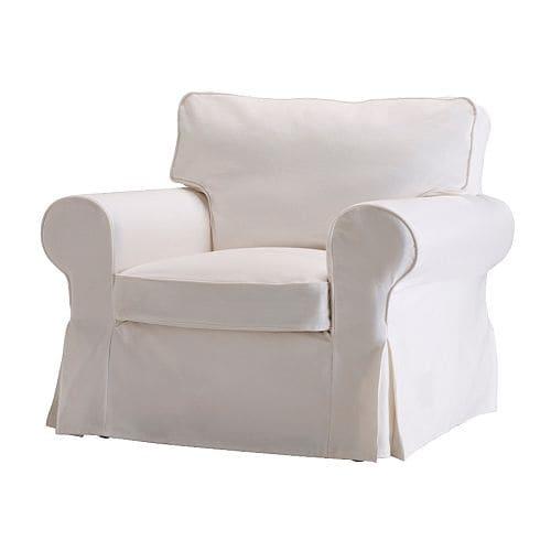 Ektorp housse de fauteuil blekinge blanc ikea for Housse fauteuil electrique