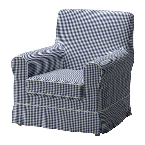 ektorp jennylund housse de fauteuil norraby bleu. Black Bedroom Furniture Sets. Home Design Ideas