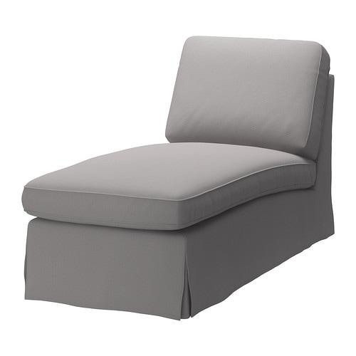 EKTORP Méridienne IKEA La housse est facile à entretenir car elle est amovible et se nettoie à sec.