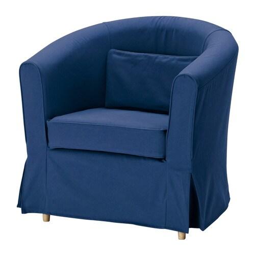 ektorp tullsta housse de fauteuil idemo bleu ikea. Black Bedroom Furniture Sets. Home Design Ideas