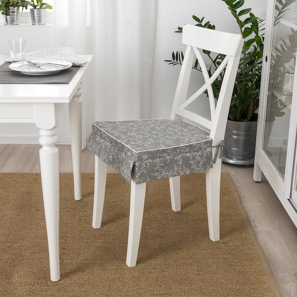 ELSEBET Carreau de chaise, gris, 43x42x4 IKEA