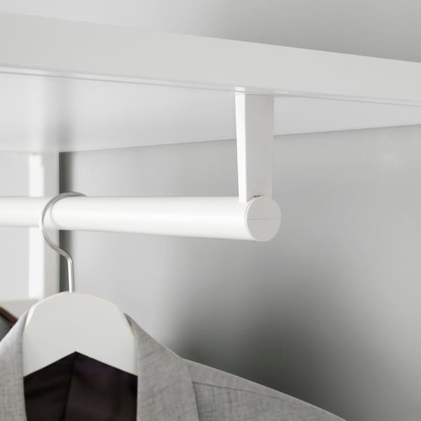 ELVARLI 2 sections, blanc, 125x55x216 cm