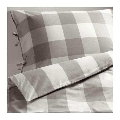 emmie ruta housse de couette et taie 150x200 65x65 cm ikea. Black Bedroom Furniture Sets. Home Design Ideas