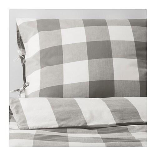 emmie ruta housse de couette et 2 taies 240x220 65x65 cm ikea. Black Bedroom Furniture Sets. Home Design Ideas