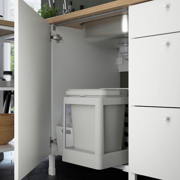Enhet Element Bas Pour Evier Blanc 60x60x75 Cm Ikea