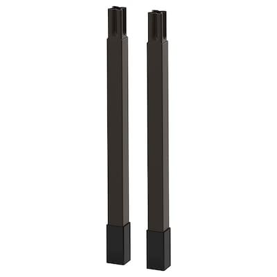 ENHET Pieds pour structure, anthracite, 23.5 cm