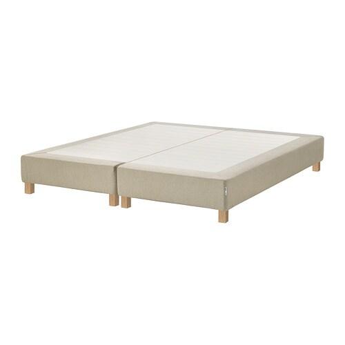 espev r sommier lattes avec pieds 160x200 cm burfjord 10 cm ikea. Black Bedroom Furniture Sets. Home Design Ideas