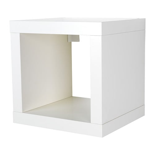Decoration in the chadow - Etagere cube ikea expedit ...