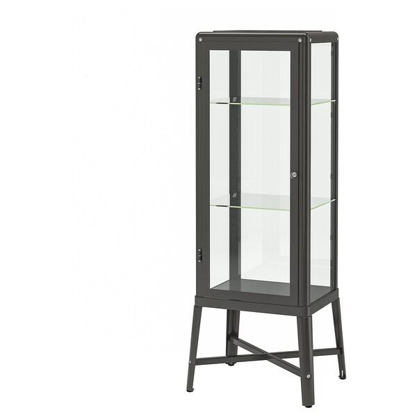 FABRIKÖR vitrine gris foncé 57 cm 47 cm 150 cm 10 kg