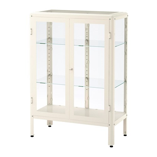 fabrik r vitrine blanc ikea. Black Bedroom Furniture Sets. Home Design Ideas