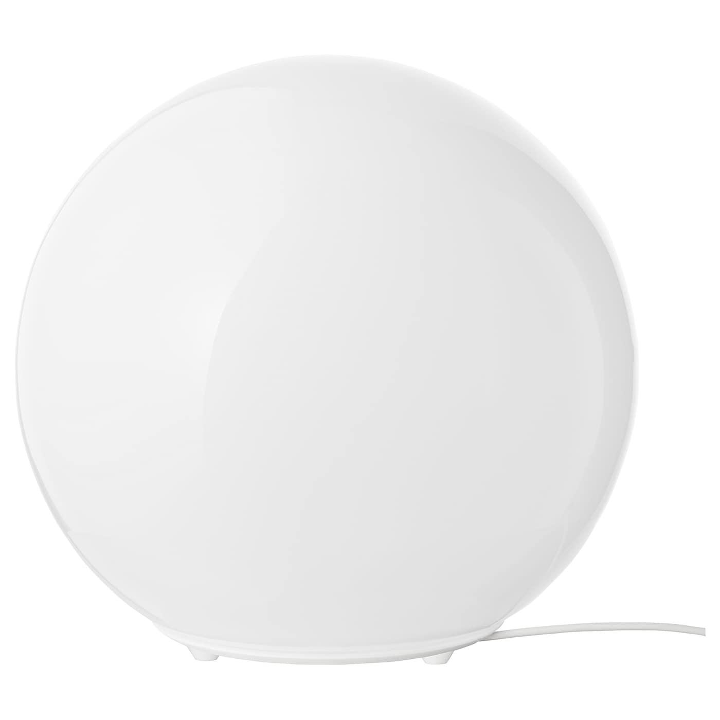 FADO Lampe de table blanc 25 cm