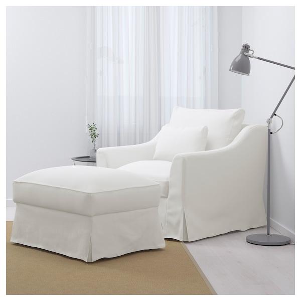 FÄRLÖV fauteuil Flodafors blanc 88 cm 93 cm 101 cm 15 cm 61 cm 66 cm 64 cm 48 cm